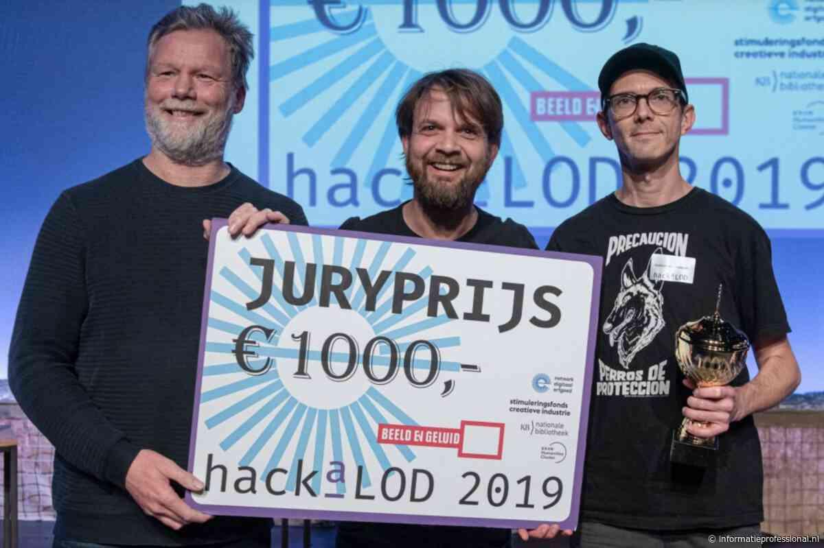 App op basis van historische ANP-radiobulletins wint HackaLOD 2019