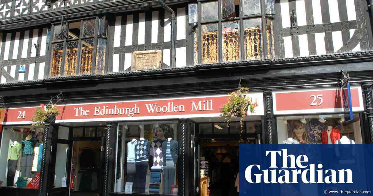 Edinburgh Woollen Mill cancels dividend as it eyes ailing rivals