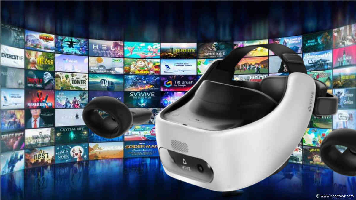 HTC Launches Viveport PC Streaming for Vive Focus Plus