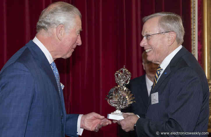 The Prince of Wales honours GPS inventors at Buckingham Palace