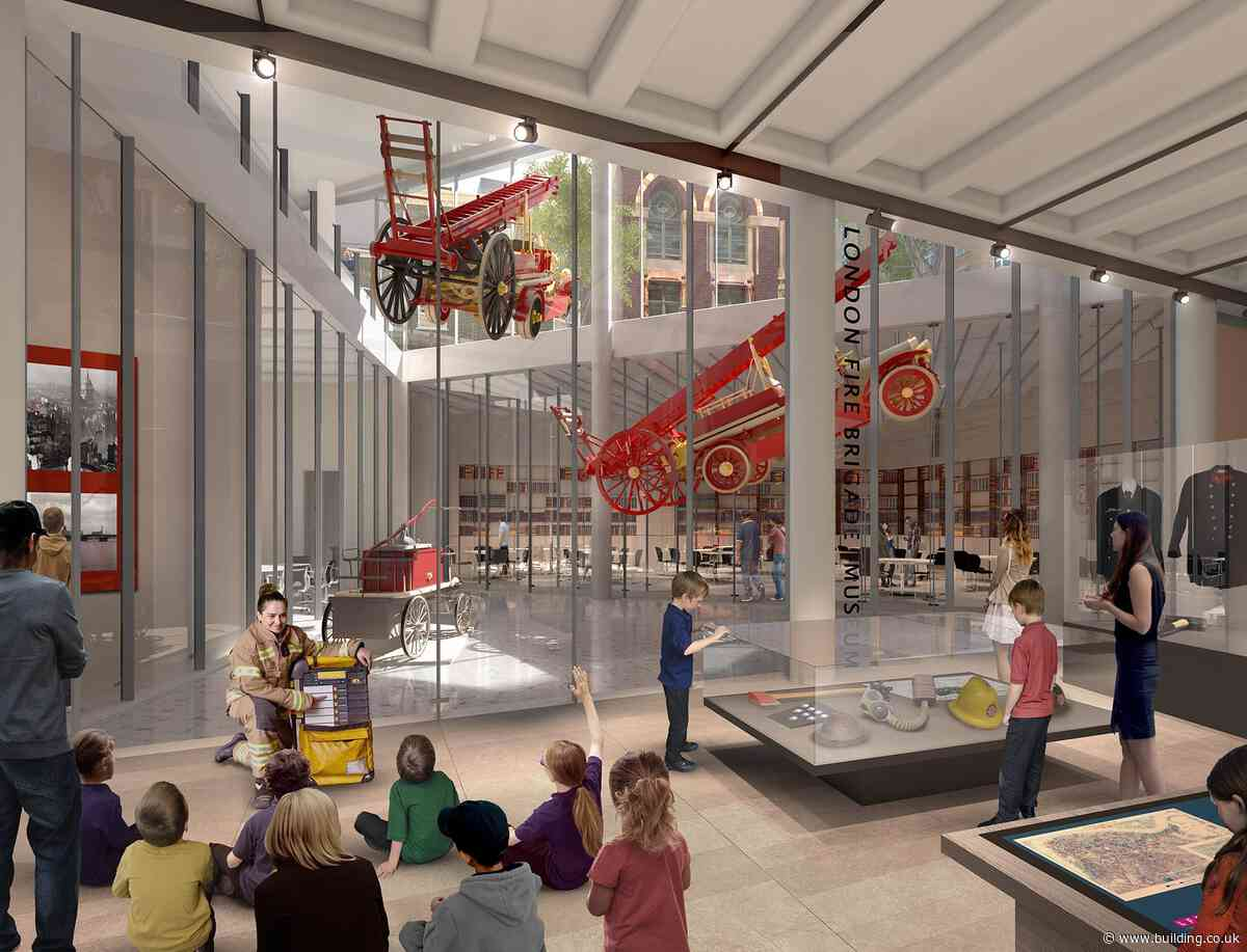 Plans for £500m overhaul of London Fire Brigade HQ approved