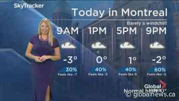 Global News Morning weather forecast: Wednesday December 4, 2019