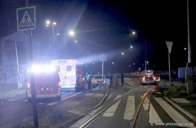 POL-RBK: Bergisch Gladbach - Radfahrer am Kreisverkehr schwer verletzt