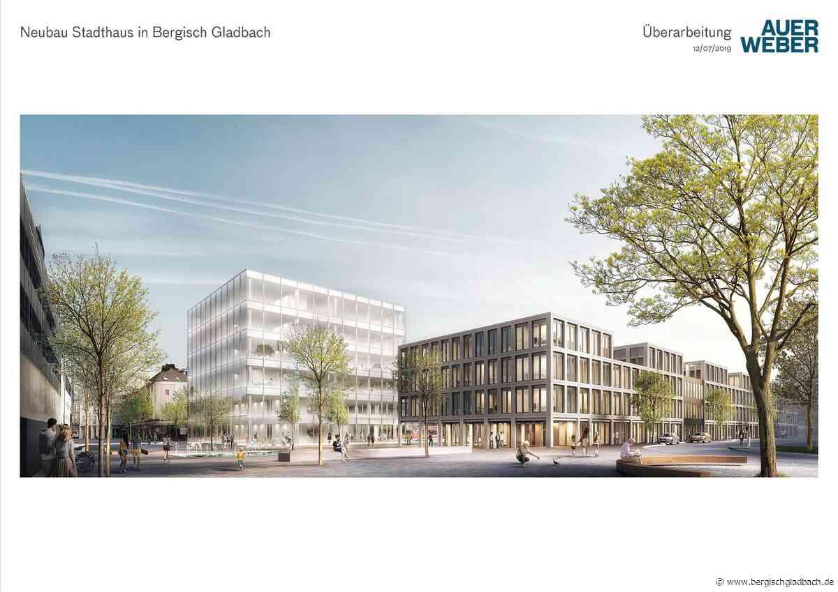 Der nächste Schritt zum Stadthausneubau – Auftragsvergabe für Vorplanung und Entwurf wurde beschlossen