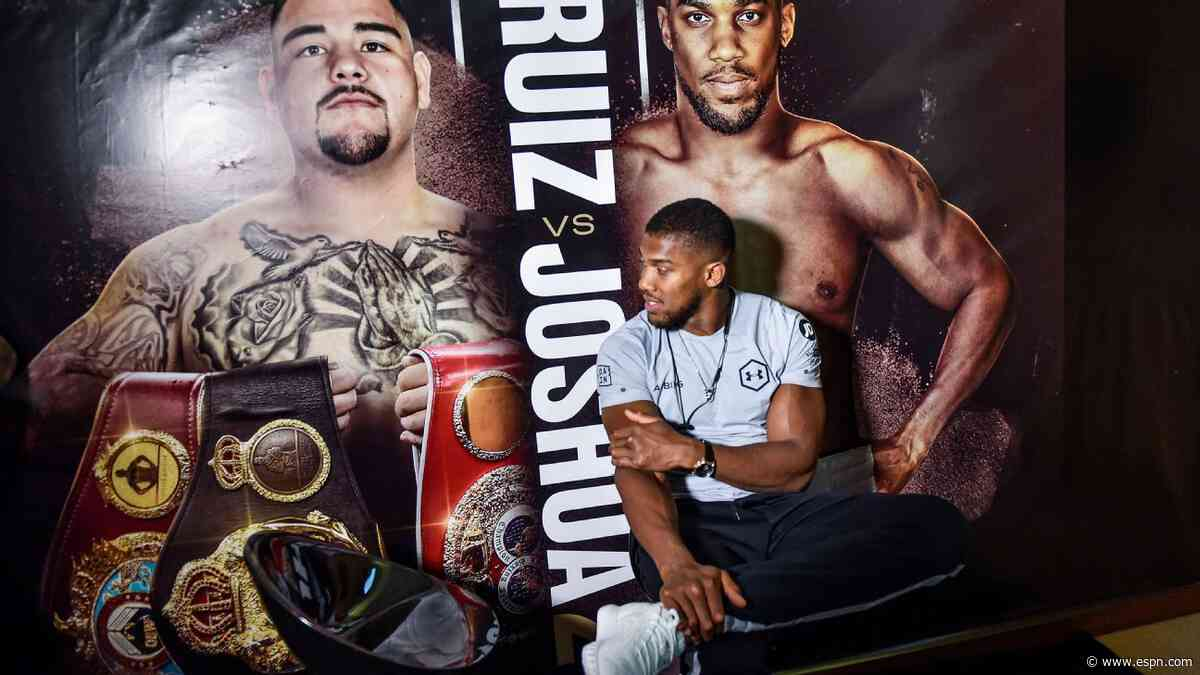 Regaining heavyweight title not an easy task for Anthony Joshua