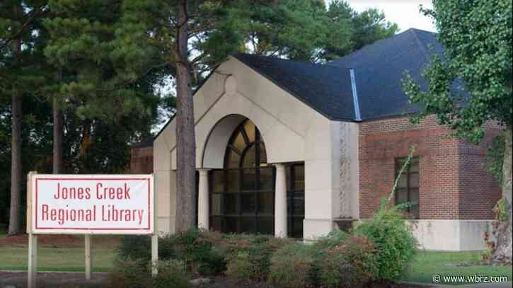 Jones Creek Library to close for three days