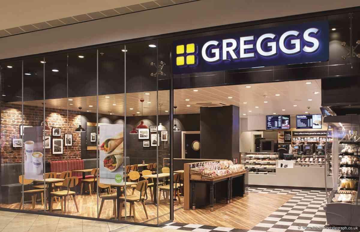 Location of Lancashire's newest Greggs shop revealed
