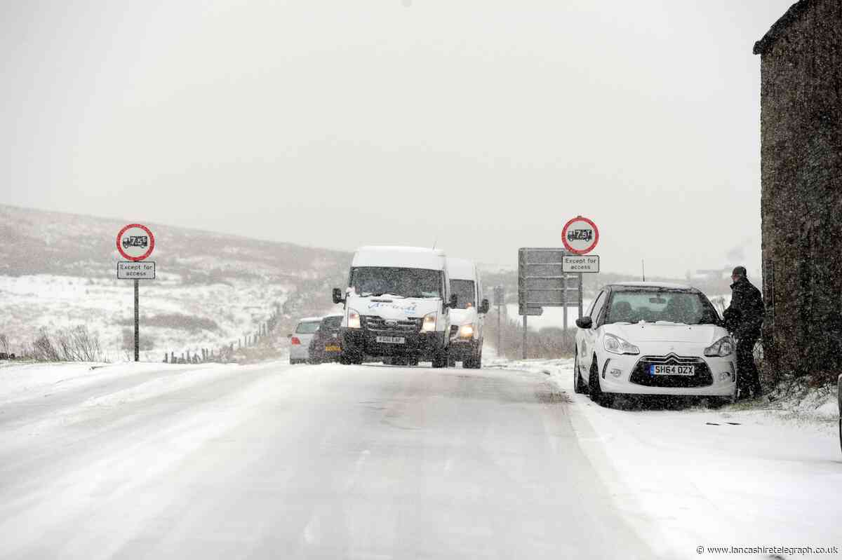 Snow forecast for East Lancs on General Election day December 12