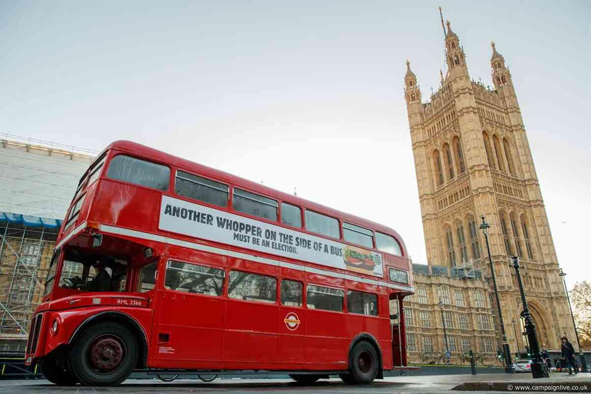 Burger King pokes fun at dishonest political claims in Whopper bus ad