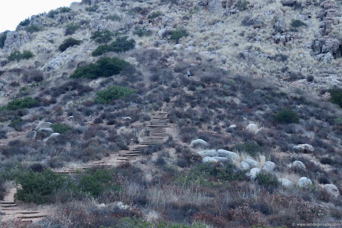 Mission Trails' 5-Peak Challenge — accepted!