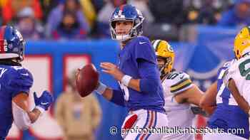 Daniel Jones out of practice with high ankle sprain