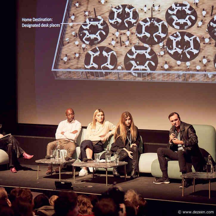 Watch Patrik Schumacher and Harriet Harriss argue about architecture education at Dezeen Day