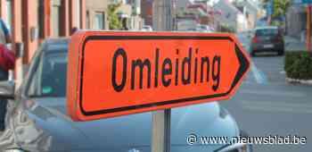 Sint-Hubertusstraat maandag korte tijd afgesloten