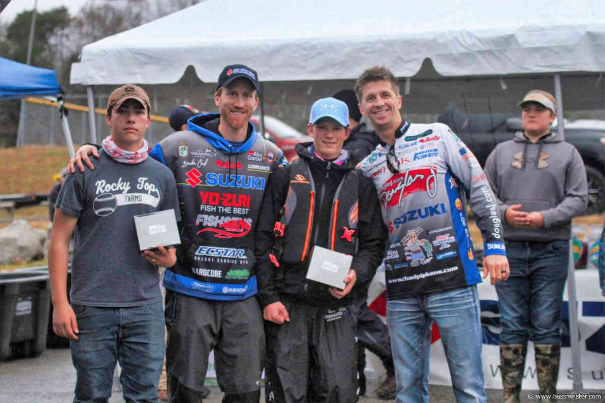 Student anglers compete, meet the pros at Card's annual open