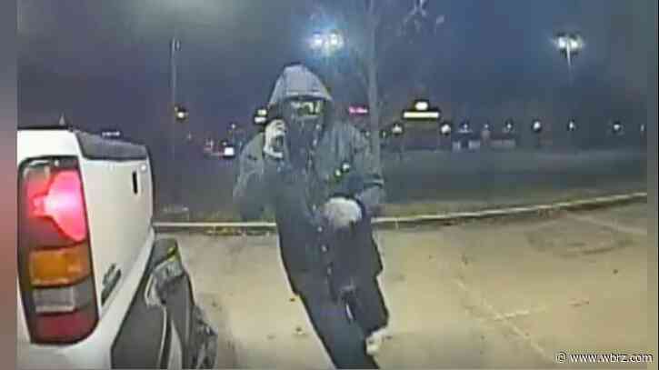 VIDEO: Ascension authorities searching for two after botched ATM theft