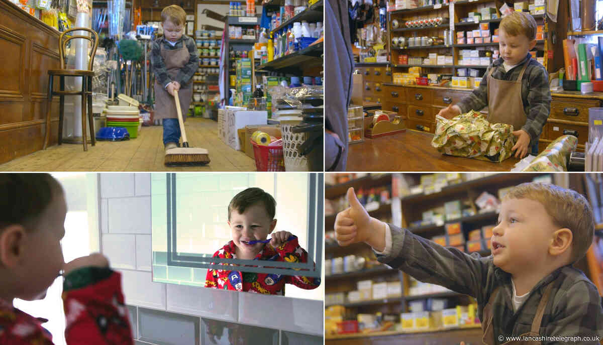 Tear-jerking Christmas advert made by Rhayader shop is getting thumbs up from everybody