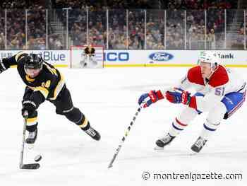 Canadiens send Gustav Olofsson back to AHL's Laval Rocket