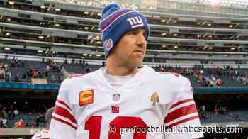 Eli Manning: I've missed being part of the action