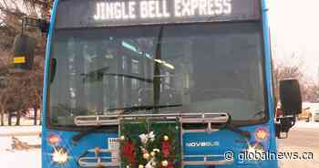 Avoid dealing with parking, traffic on Jingle Bell Express in Saskatoon