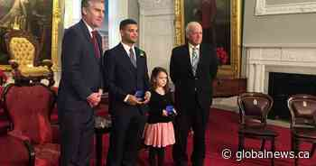 8-year-old Sophia LeBlanc the youngest to earn Nova Scotia medal of bravery