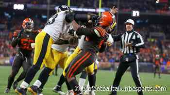 """Maurkice Pouncey has """"no regrets"""" about fight with Browns"""