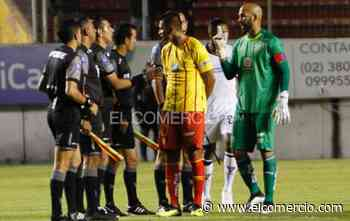 El DT Gabriel Schürrer analiza jugar ante Liga con Juan Manuel Tévez y Edson Montaño en la delantera de Aucas