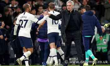 Lucas Moura hails impact of Jose Mourinho as Tottenham boss