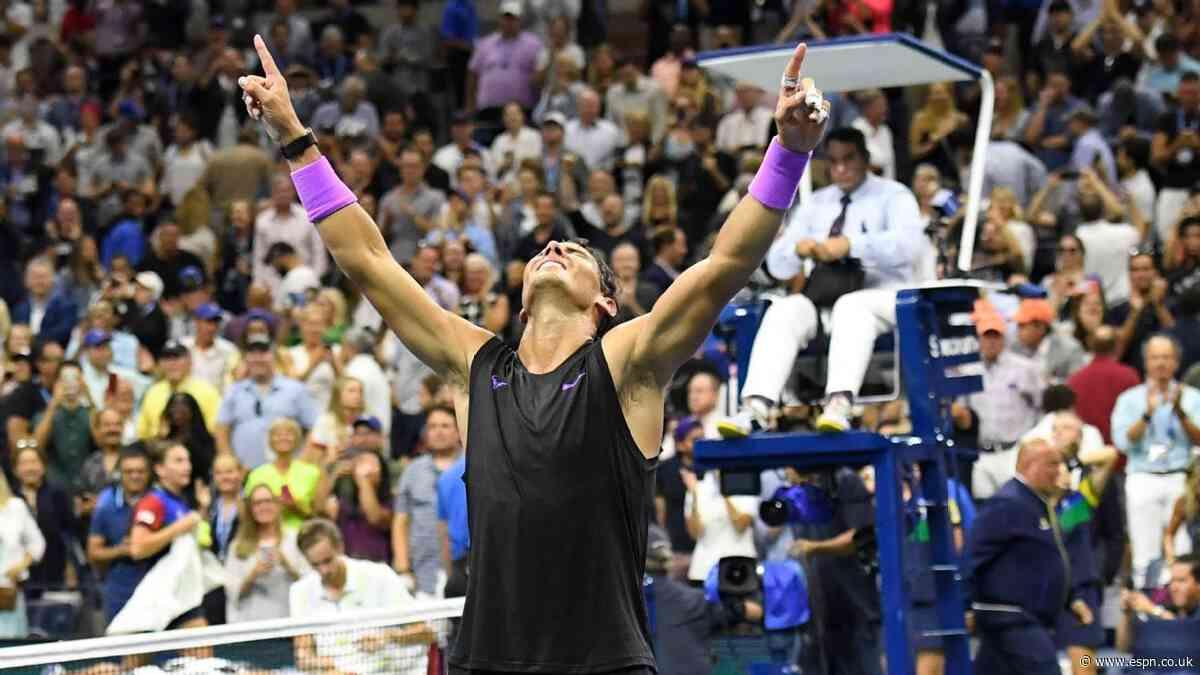 Rafa, Andreescu and the best tennis in 2019