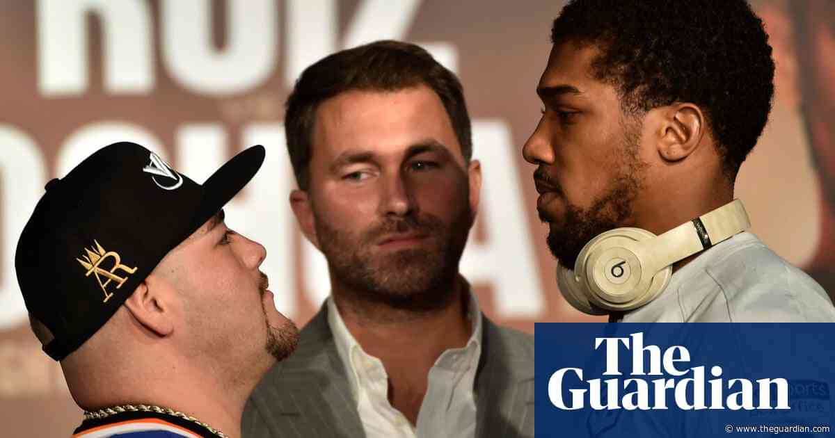 Eddie Hearn offers hot air and hype but Joshua punches through the noise