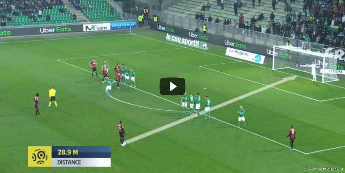 VIDEO – Kasper Dolberg trekt topvorm door met derde doelpunt in drie duels
