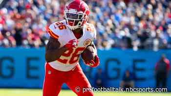 Damien and Darrel Williams out of practice for Chiefs