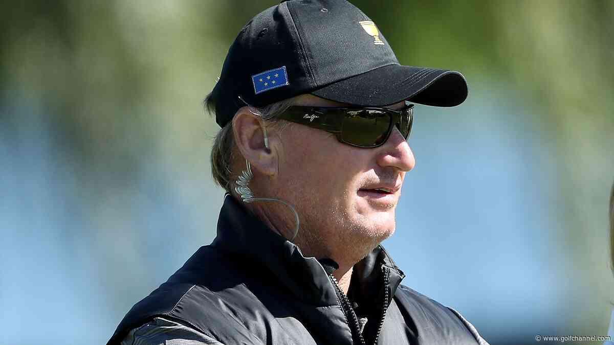 Els seeks 'look in the eye' for Woods' singles opponent