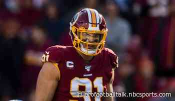 Ryan Kerrigan cleared from concussion protocol