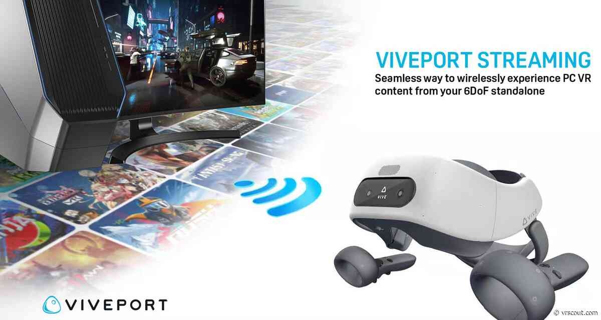 VIVEPORT Wireless VR Streaming Beta Now Available On Vive Focus Plus & Vive Wave