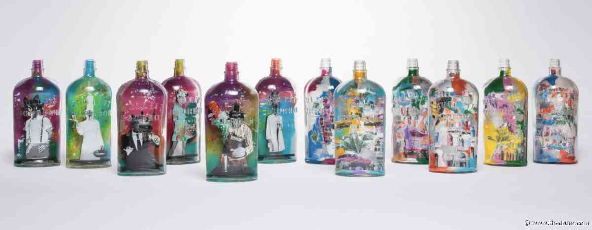 Bulleit continues its 3D Printed Frontier Experience with art bottle exhibition