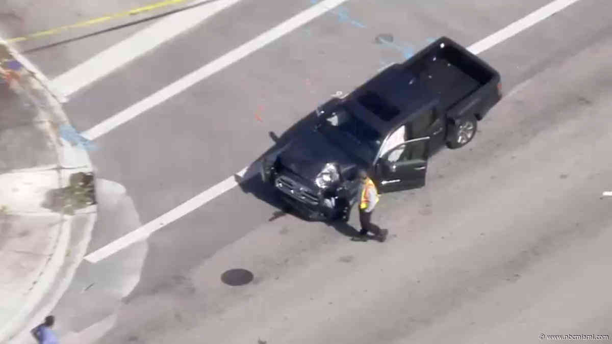 Woman on Sidewalk Struck and Killed by Truck in SW Miami-Dade