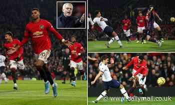 Manchester United 2-1 Tottenham: Jose Mourinho tastes defeat on his return to Old Trafford