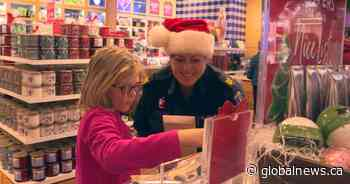Dozens of kids treated to shopping spree by police officers in Halifax