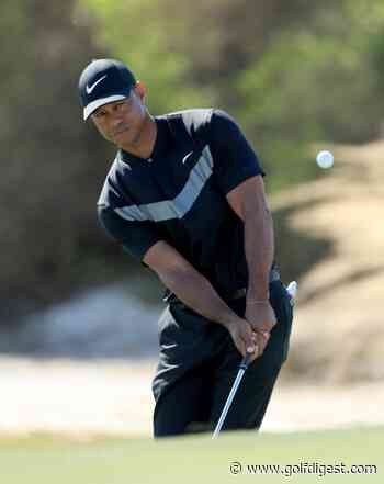 Tiger opens Hero World Challenge with up-and-down 72, six back of lead