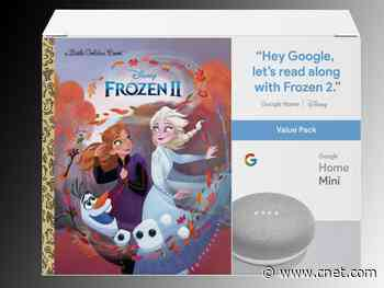 Get a Google Home Mini with a Disney Frozen II book for $20     - CNET