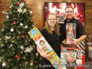 Summit Fitness in Cornwall, Big Brothers Big Sisters team up for toys