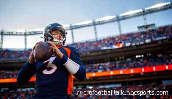 Drew Lock heard from Archie and Peyton Manning after getting first win