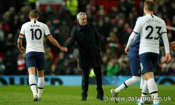 Jose Mourinho bemoans complacent Tottenham after his first loss as Spurs manager against Man Utd