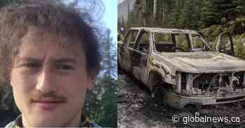 RCMP suspend search for missing Calgary man whose burnt truck was found in B.C. backcountry