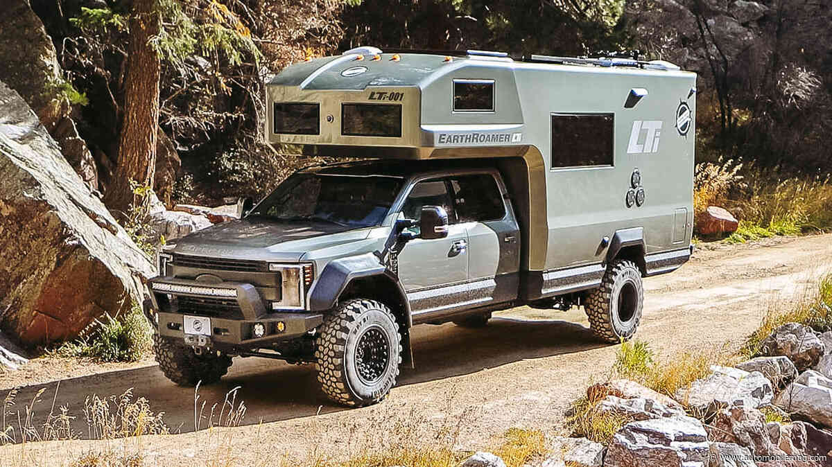 EarthRoamer's LTi Overland Camper Takes Luxury Living Off the Grid