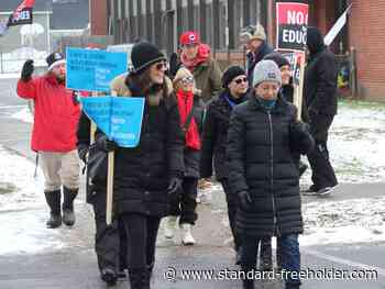 Cornwall/SDG school staff join provincewide strike Wednesday