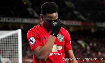 Manchester United forward Anthony Martial a doubt for Saturday's derby against Manchester City
