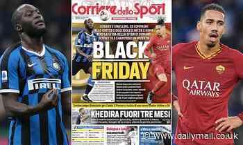 Italian newspaper Corriere dello Sport in race storm after shocking 'Black Friday' headline
