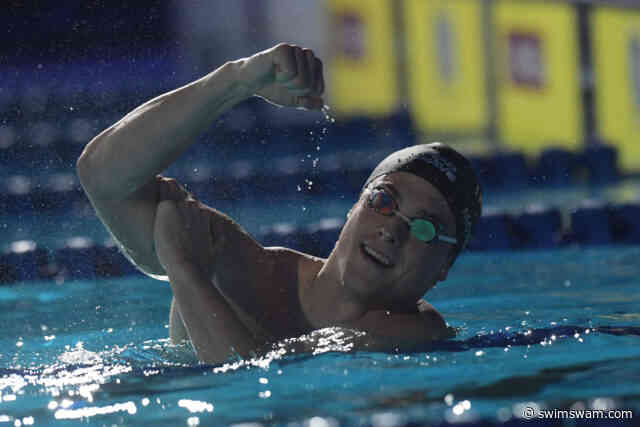 Morozov's Double Gold Drives Russia To Top Of European SC C'ships Medal Table