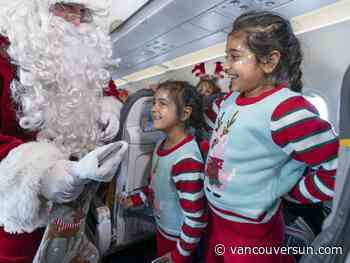 Children get their wish with special Vancouver flight, visit from Santa